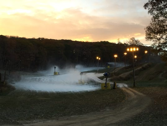 Mountain Creek resort making snow already