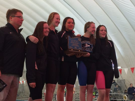 Century girls swimming wins second straight state championship for Mt hood community college pool open swim