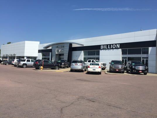 Billion jr opposes expansion of family dealership for Billion motors sioux falls