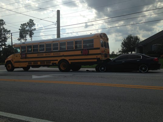 School bus crash reported in palm bay for Department of motor vehicles palm bay florida