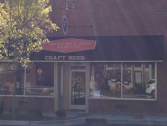 Growler haus open for business in fountain inn for Craft stores greenville sc