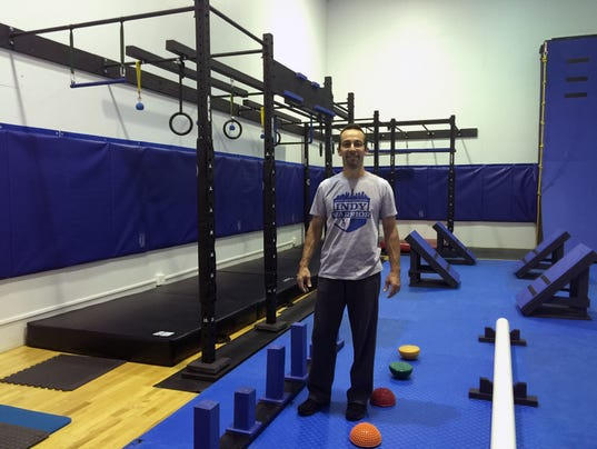 Train for american ninja warrior in this new gym