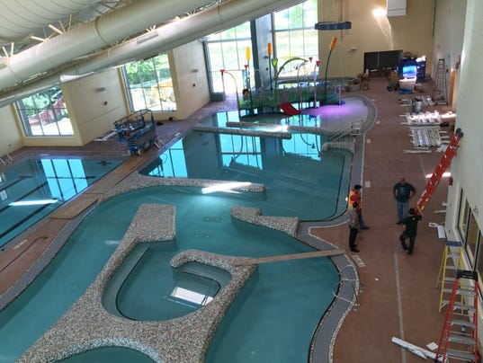 Windsor ready to debut expanded rec center for Windsor swimming pool with slides