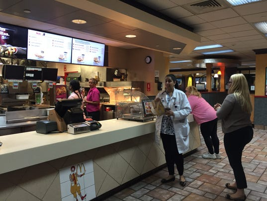 Downtown Louisville Fast Food
