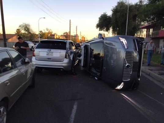 Car Accident   Night Phoenix