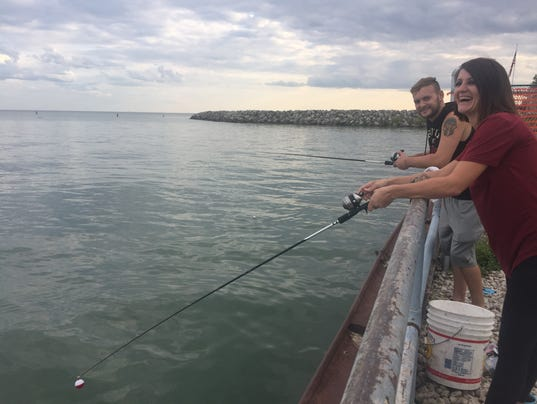 Health safety of lake st clair water has ripple effect for Harrison fishing pier