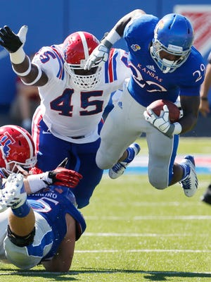 Louisiana Tech defensive lineman Vernon Butler (45) could be an ideal fit for Green Bay's defensive line. He's big, athletic and versatile.