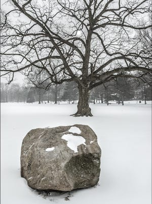 """Friends of Anderson Park will sponsor a presentation, """"Montclair in the Ice Age,"""" on Feb.7 at the Montclair Public Library. The program will include a history of the boulders in Anderson Park."""