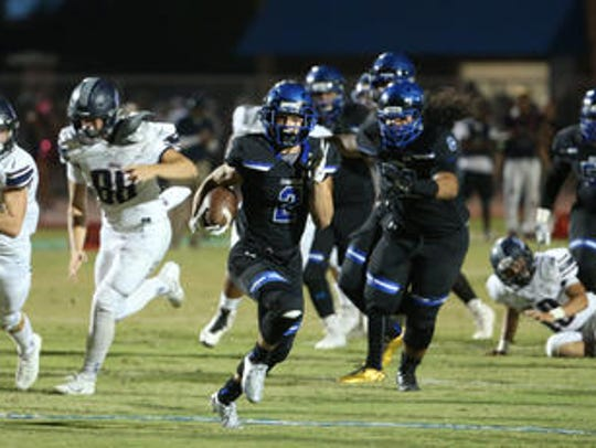 Chandler senior running back Drake Anderson picked