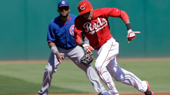 Billy Hamilton is 6-for-6 on stolen bases this spring training.