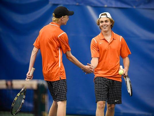 Boys tennis: Tech takes 8-2A title, advances to state