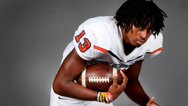 Blackman wide receiver Trey Knox