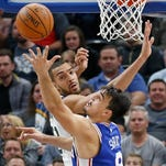 Saric scores 25 as 76ers beat Jazz 104-97 for 5th straight