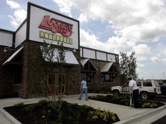 A Logan's Roadhouse location in Mt. Juliet, Tennessee.
