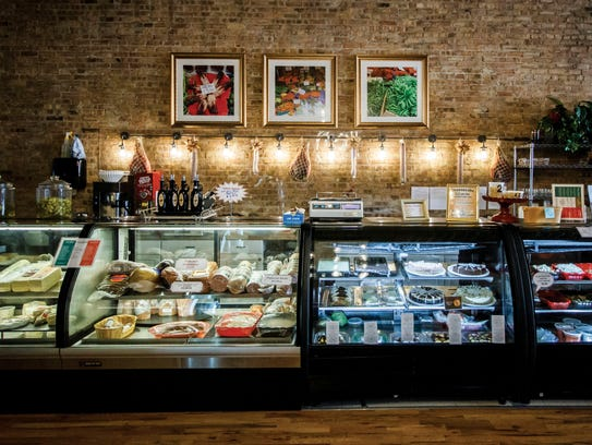 Bella Gusto offers meats and cheeses imported from