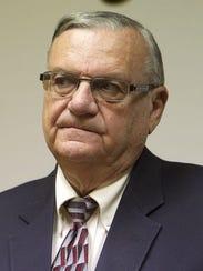 Joe Arpaio, alguacil del Condado Maricopa