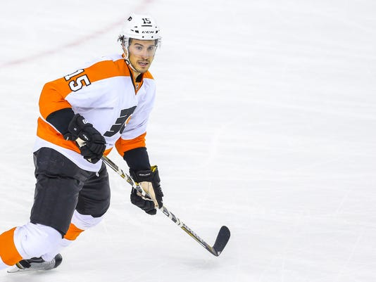 NHL: Philadelphia Flyers at Calgary Flames