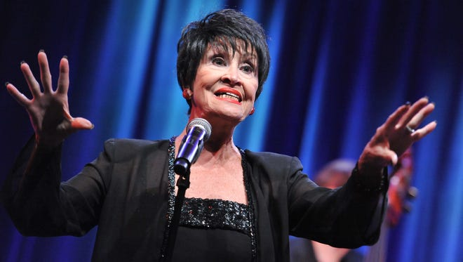 Chita Rivera postponed her show at at Cafe Carlyl after being injured in a fall over the Christmas holiday.