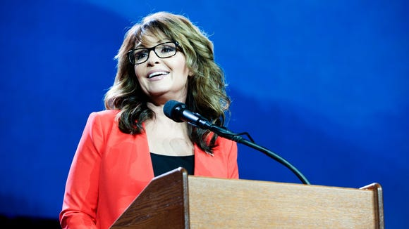 Sarah Palin addresses the Western Conservative Summit