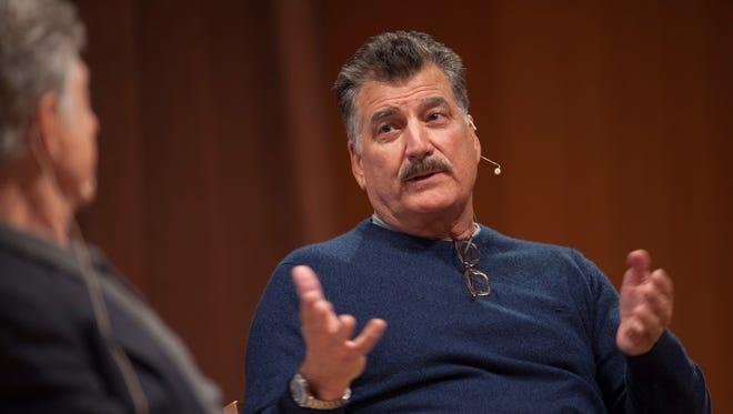 Keith Hernandez speaks at Dew Univeristy. 11/14/17