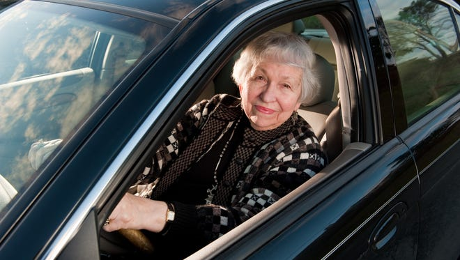 As people get older their ability to drive a car is sometimes diminished.
