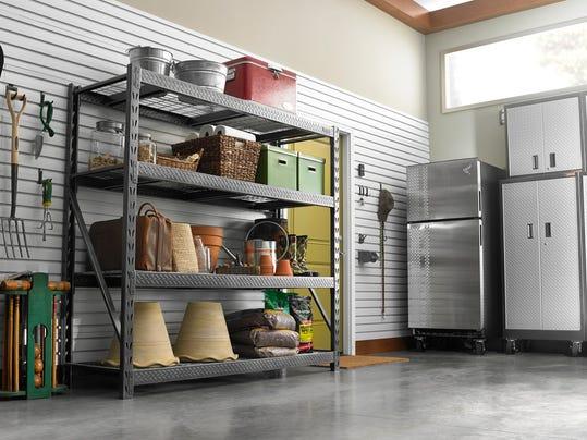 Solutions for reclaiming the space in your garage