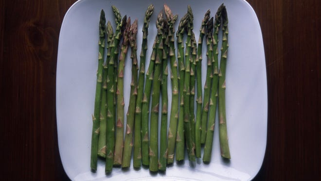 Plant a few asparagus plants (crowns) for an early spring vegetable. Plants should be productive for 20 years or longer.
