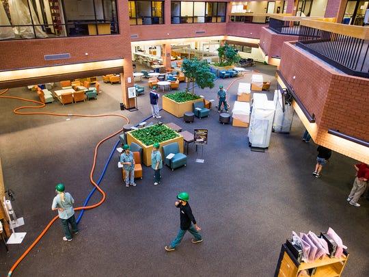 This is the atrium at Arizona State University's Daniel