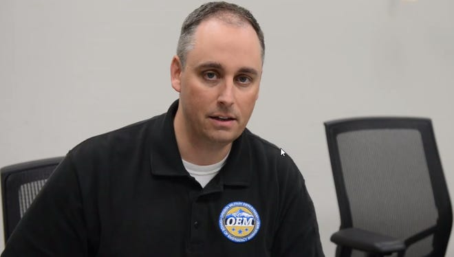 Oregon's Office of Emergency Management Director Andrew Phelps apologizes in a video posted on the agency's Facebook page.