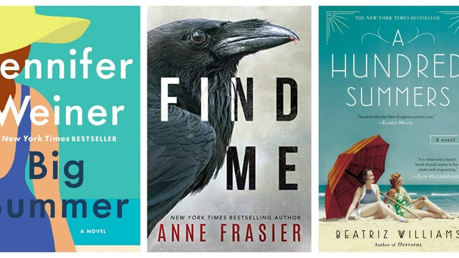 """The Book of Lost Names,"" """"Big Summer,"" ""Find Me,"" ""A Hundred Summers,"" ""Friends and Strangers"""