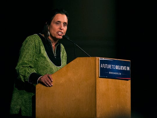 Winona LaDuke, an American Indian Activist and former