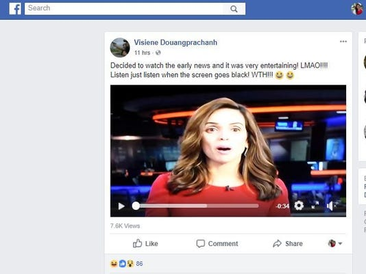 TV station fires employee after airing vulgar 'lick it, smell it' audio clip
