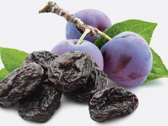 Prunes are naturally sweet.