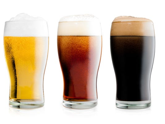 Beers with clipping path
