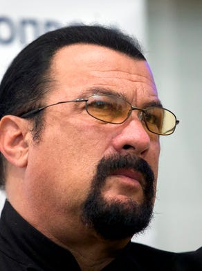 Actress Portia de Rossi claimed in a Nov. 8, 2017 tweet that actor/producer Steven Seagal, during a private office audition, explained the importance of chemistry off-screen as he sat her down and unzipped his leather pants. The actress says she escaped and called her agent following the incident.