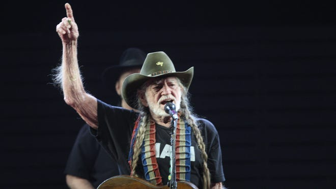 Willie Nelson, seen performing at the 2017 Stagecoach country music festival in Indio, will perform at the McCallum Theatre in October after canceling his January appearance due to illness. Omar Ornelas/The Desert Sun Via USA TODAY NETWORK