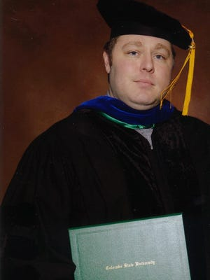 Dr. Joseph C. Hardin, son of Joseph and Carel Hardin of Alamogordo and grandson of Hazel Miles and the late Vernard C. Miles of Alamogordo graduated with his doctorate in electrical engineering from Colorado State University, where his focus was on weather radars.