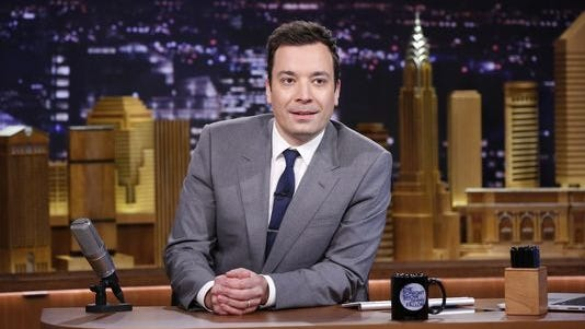Jimmy Fallon hosts 'The Tonight Show,' and is a regular in 'Punchlines'.