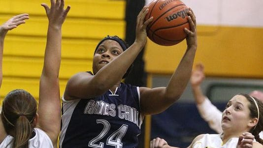 Cierra Dillard ranks 18th on the Section V scoring list after reaching 2,108 points on Monday.