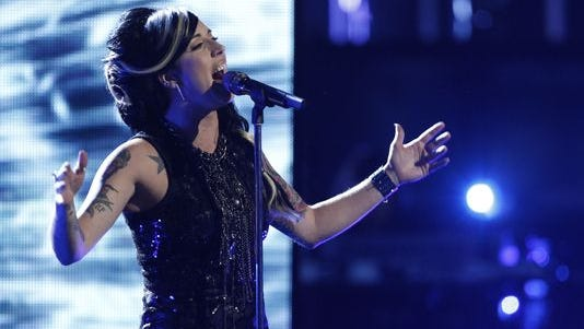 """Minnesota singer Kat Perkins' run on """"The Voice"""" came to an end during the Top 5 live elimination show."""