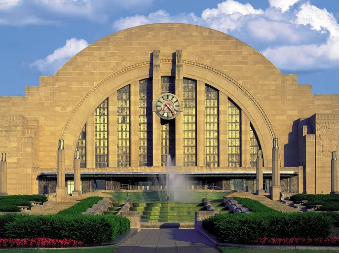 Union Terminal is a Cincinnati landmark, but the Art Deco beauty is deteriorating.