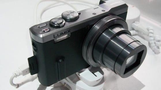The Panasonic DMC-ZS40 camera