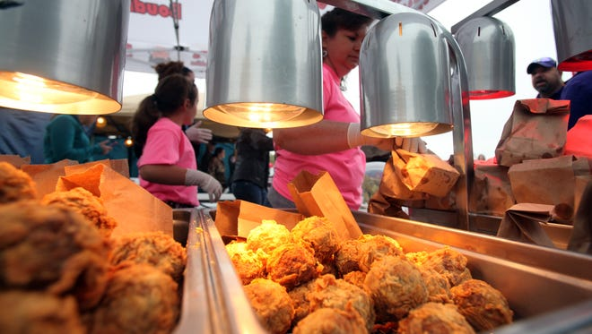 Some foreigners are surprised at the amount of fried food that can be found in Louisiana.