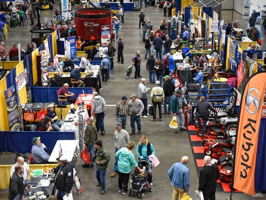 Hundreds of booths featured farm-related equipment and services during the 2017 Central Minnesota Farm Show in St. Cloud.