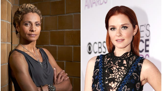 "Michelle Hurd, left, and Sarah Drew headline the rebooted ""Cagney & Lacey"" on CBS, which has ordered a pilot of the detective drama."