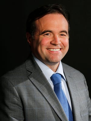 Cincinnati Mayor John Cranley, pictured, Friday, March 31, 2017, at The Cincinnati Enquirer.