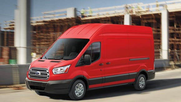 The Ford Transit is a commercial van.