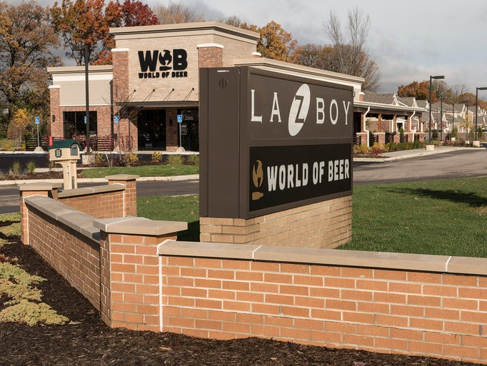 La-Z-Boy and World of Beer are among the newest additions