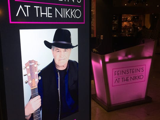 Micky Dolenz of the Monkees performed a solo show at Michael Feinstein's nightclub at the Hotel Nikko last weekend.