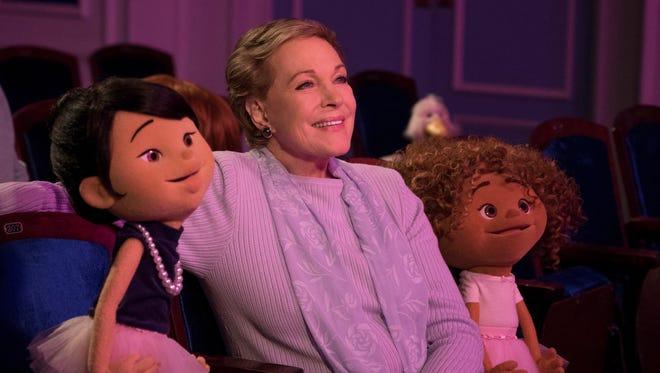 """Julie Andrews on """"Julie's Greenroom."""""""
